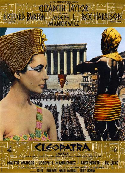 """Vida Press nuotr./Filmo """"Kleopatra"""" plakatas"""