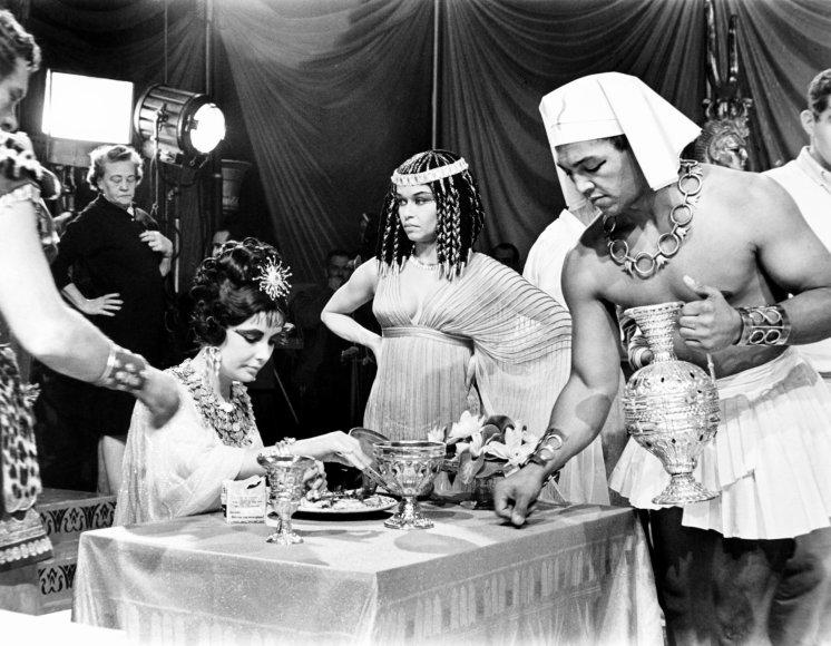 "Vida Press nuotr./Filmo ""Kleopatra"" užkulisiai"