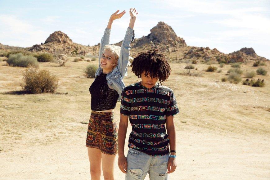 """""""H&M"""" nuotr./""""H&M"""" linijos specialiai """"Coachella"""" festivaliui drabužiai"""