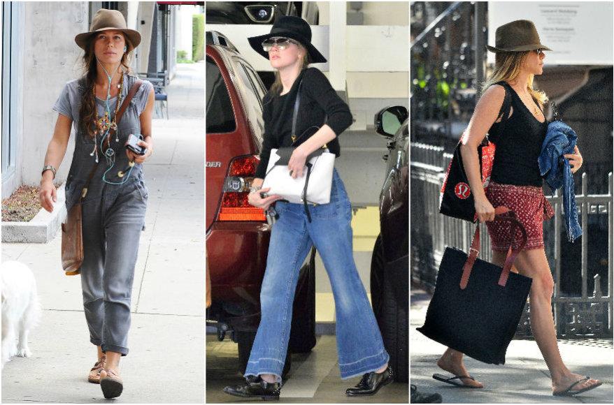 Vida Press nuotr./ Rhona Mitra, Amber Heard, Jennifer Aniston
