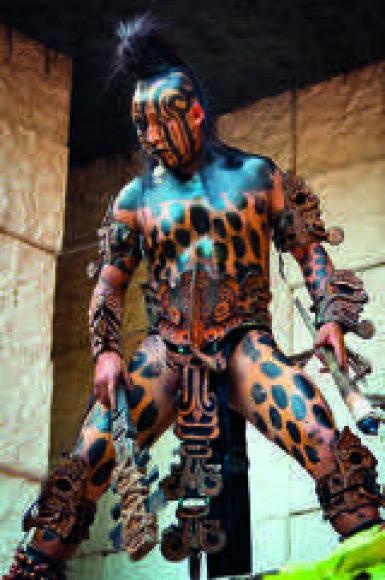 """""""Shutterstock"""" nuotr./Šį ritualą senovės majai vadino Apuoko šokiu"""