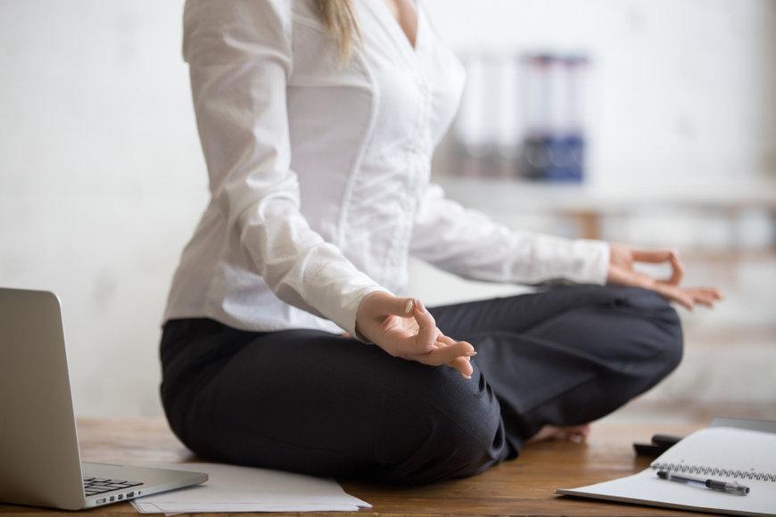 Vida Press nuotr./Meditacija