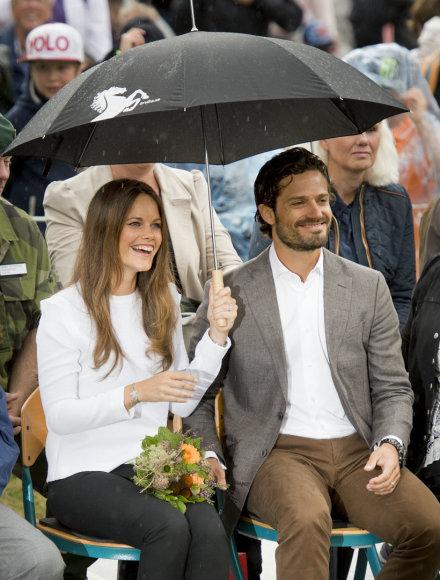 Vida Press nuotr./Princesė Sofia ir princas Carlas Philipas