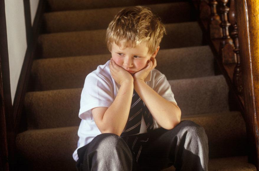 Vida Press nuotr./Liūdnas vaikas