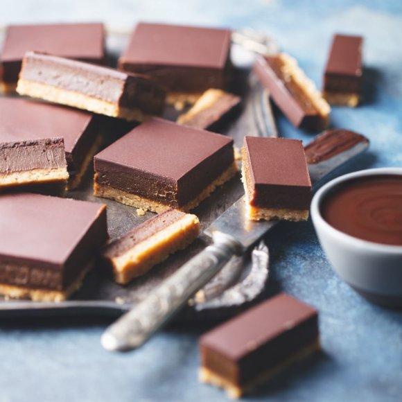 Šokoladinis karamelinis pyragas