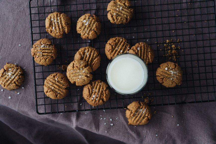 Traškūs migdoliniai sausainiai