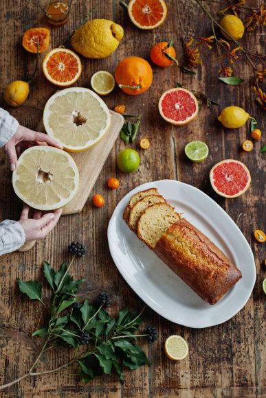 Jogurtinis keksas su citrinomis