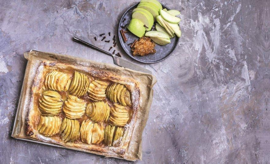 Tartaletė su obuoliais