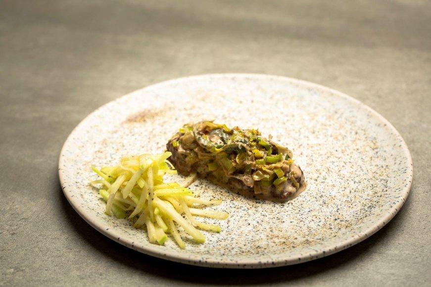 Jautienos kepsneliai su gorgonzolos sūriu