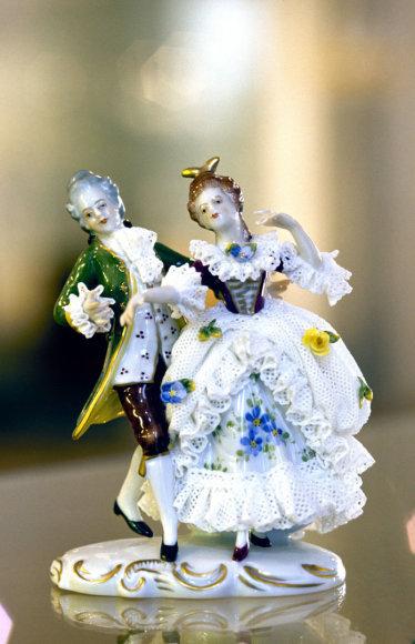 Vida Press nuotr./Porcelianinė skulptūrėlė