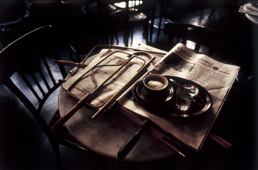 Vida Press nuotr./Kavinės staliukas Vienoje