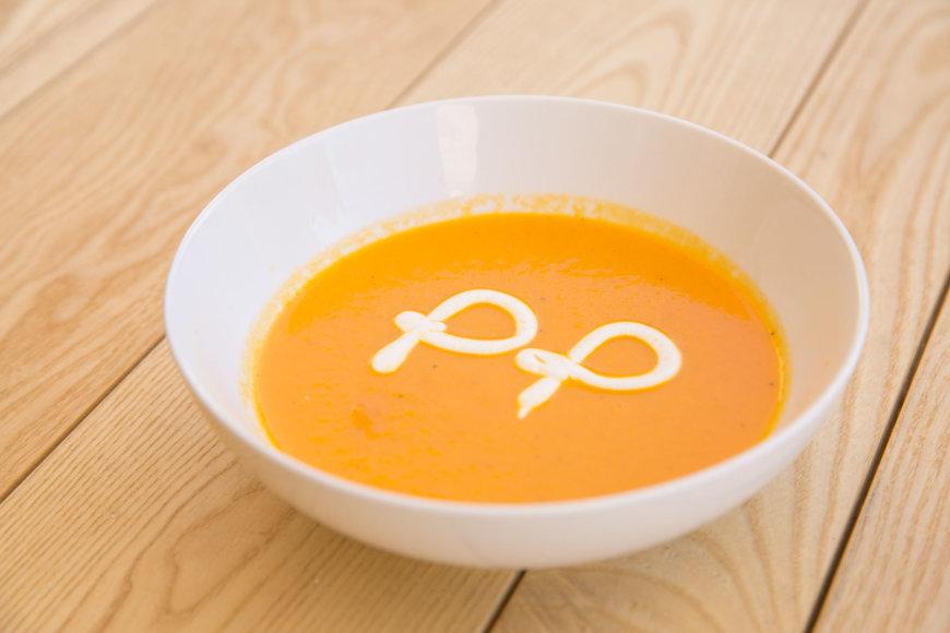 Morkų ir imbierų sriuba