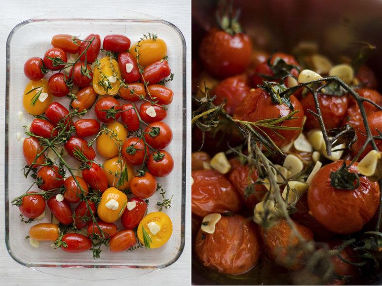Strelkabelka nuotr./Kepti pomidorai