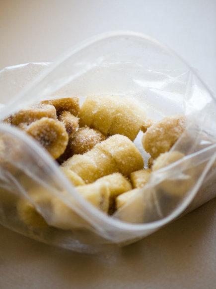 Nidos Degutienės nuotr. /Šaldyti bananai