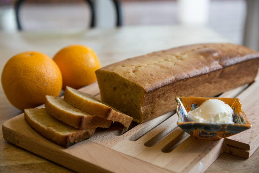 Apelsinų duona iš Karibų
