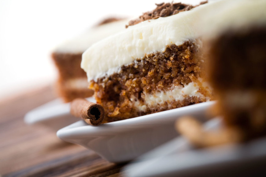 Vida Press nuotr./Morkų pyragas