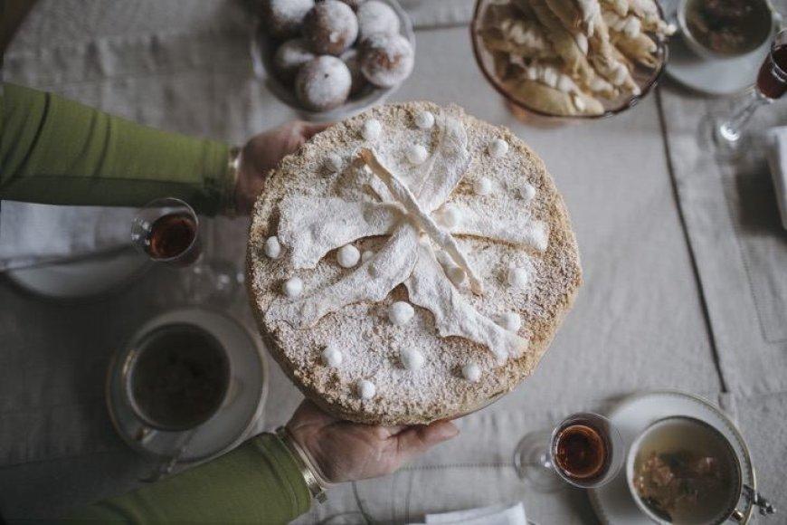 """Renatos Ničajienės tortas """"Napoleonas"""""""