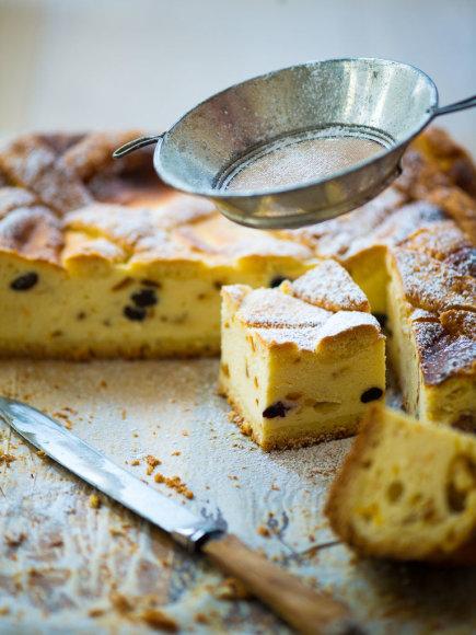 Krokuvos varškės pyragas