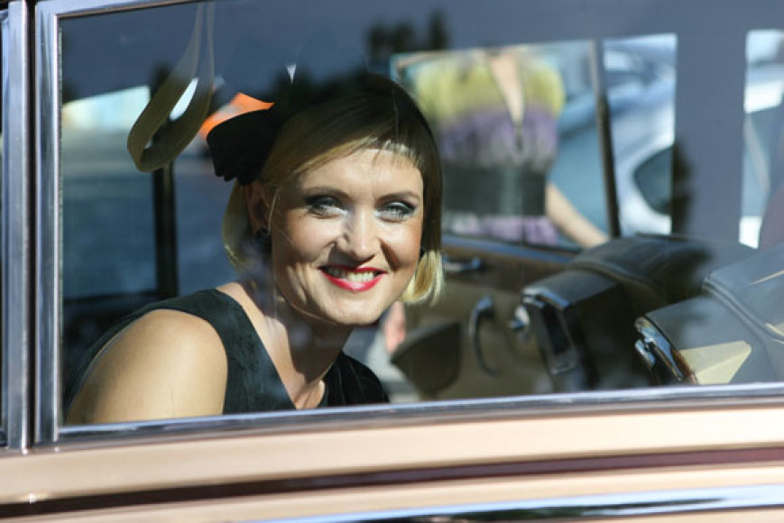 Aktorė Daiva Rudokaitė