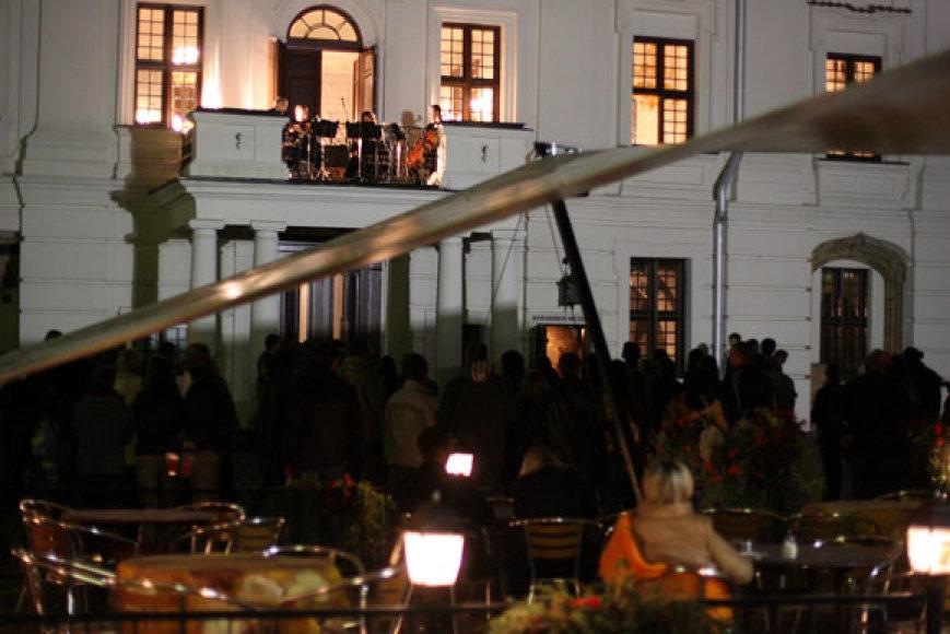 Koncertas iš Rotušės balkono