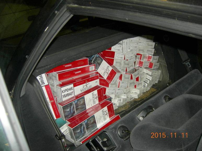 Cigaretės automobilyje