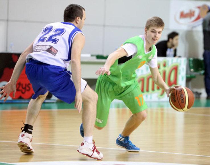 Krepšinio turnyro akimirka