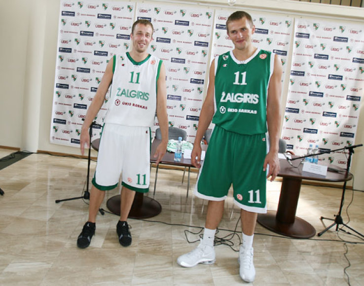 """Kauno """"Žalgirio"""" klubo vadovai ir sportinės aprangos gamintojo """"Champion"""" atstovas Lietuvoje pasirašė 3 metų bendradarbiavimo sutartį"""