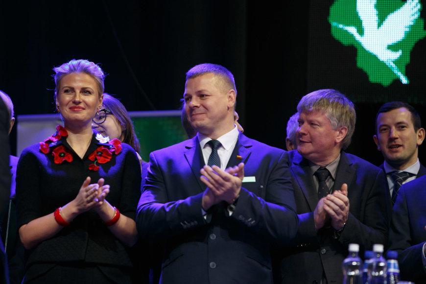 Eriko Ovčarenko / 15min nuotr./Valstiečių ir žaliųjų sąjungos suvažiavimas