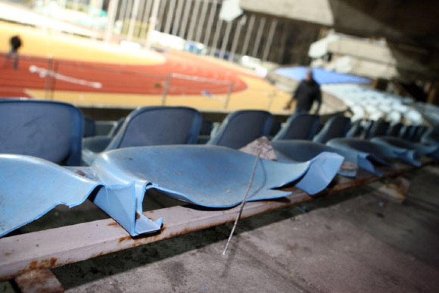 Stadionas po rungtynių