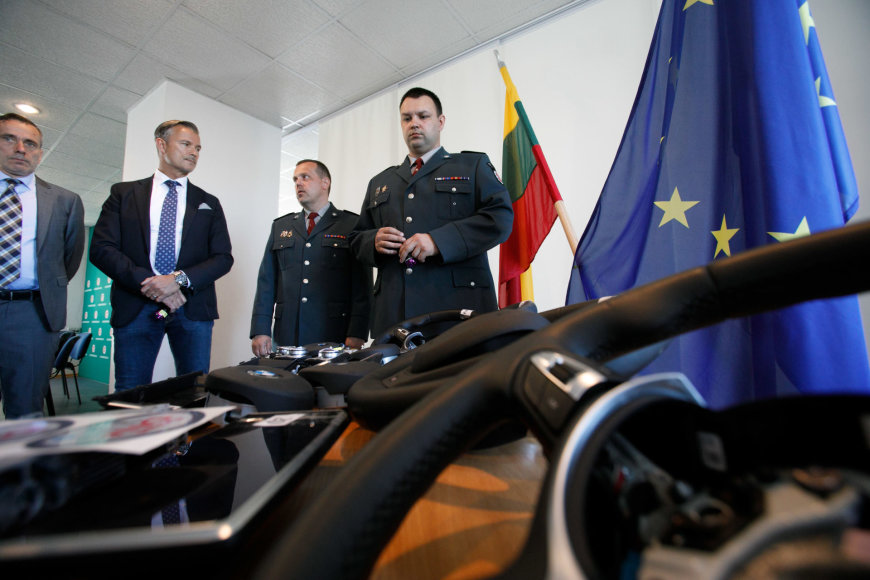 "Eriko Ovčarenko / 15min nuotr./Kaune pristatyta ""Smart DNR"" technologija"