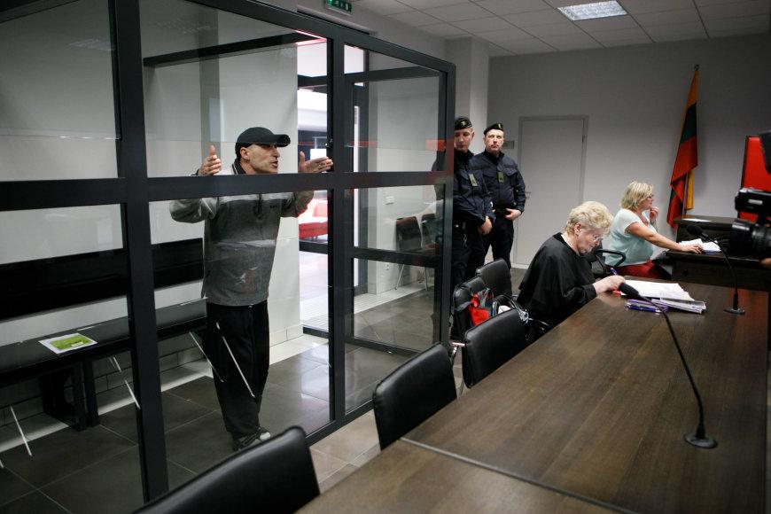 Eriko Ovčarenko / 15min nuotr./Algimantas Lengvinas teisme