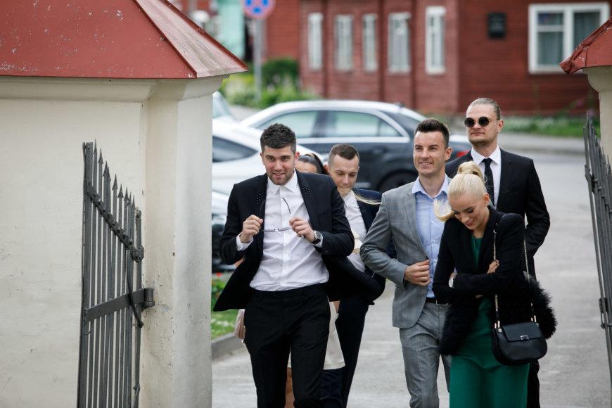 Eriko Ovčarenko / 15min nuotr./Marius Rutkauskas, Adas ir Simona Juškevičiai, Tautvydas Sabonis