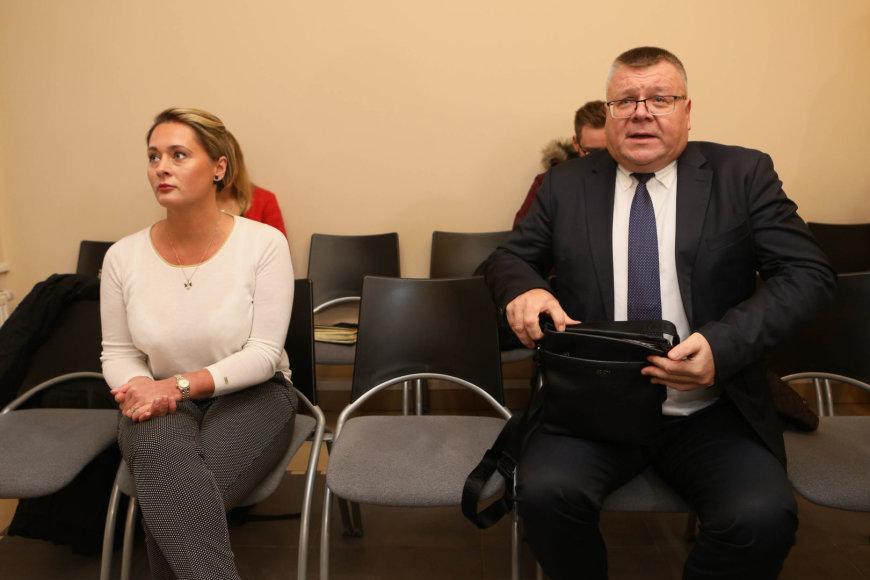 Eriko Ovčarenko / 15min nuotr./Daiva Gineikaitė ir Gediminas Abeciūnas