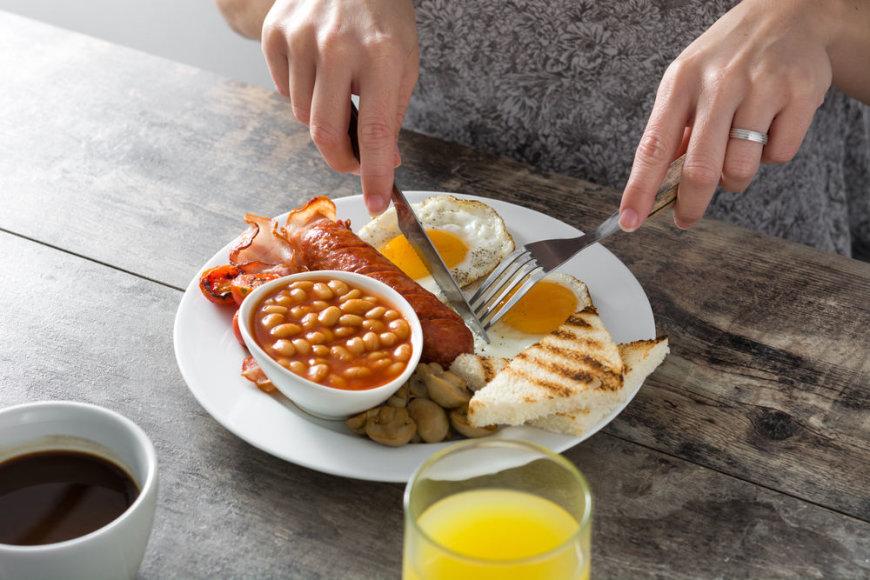 Shutterstock nuotr./Angliški pusryčiai
