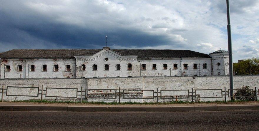 Asmeninė nuotr./Apleistas kalėjimo pastatas
