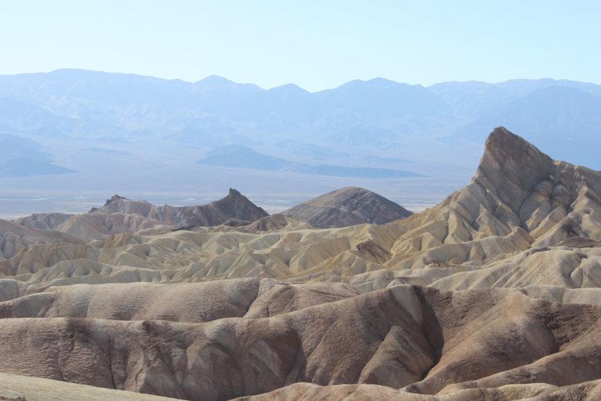 """T&G"" nuotr./Zabriskie panorama"