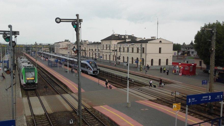 Vaido Mikaičio nuotr./Balstogės geležinkelio stotis