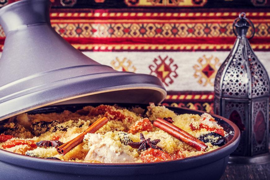 Shutterstock nuotr./Maroko patiekalai ne tik atrodo gražiai, bet ir yra neapsakomai gardūs