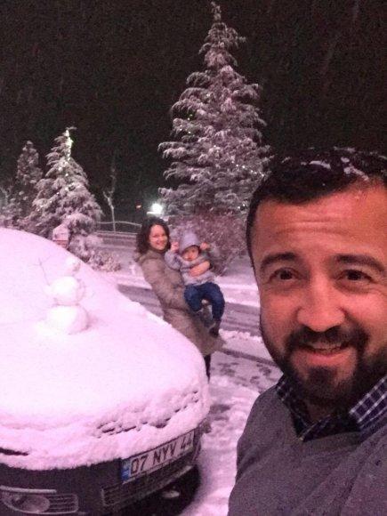 Asmeninė nuotr./Mustafa Erkut šeima