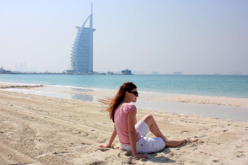 123rf.com/Paplūdimys Dubajuje