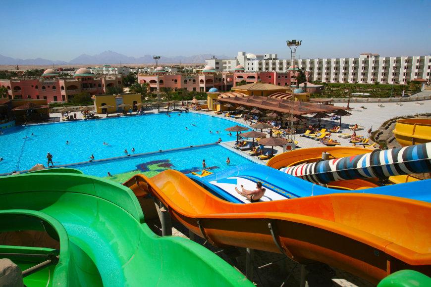 123rf.com nuotr./Vandens pramogos – beveik visuose Egipto viešbučiuose