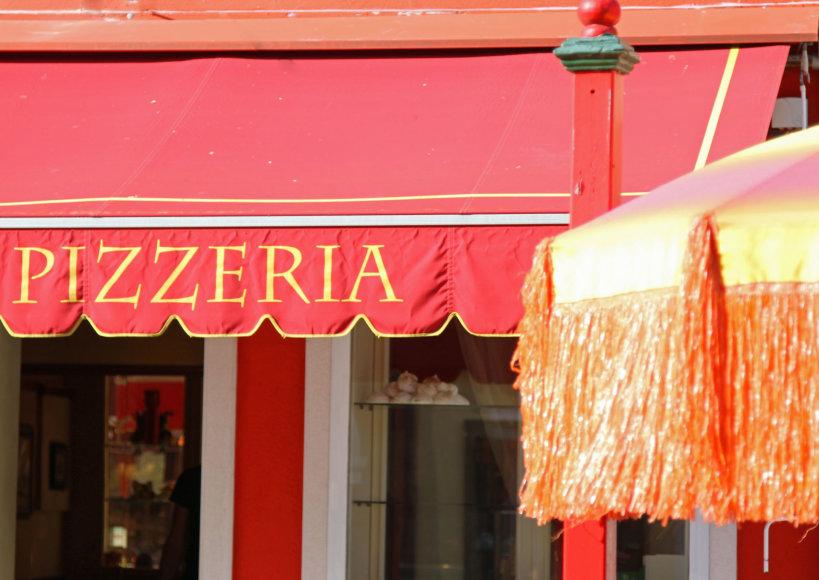 123rf.com nuotr./Išsirinkus tinkamą piceriją Romoje gauta pica tikrai nenusivilsite