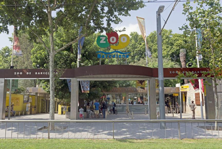123rf.com /Įėjimas į Barselonos zoologijos sodą
