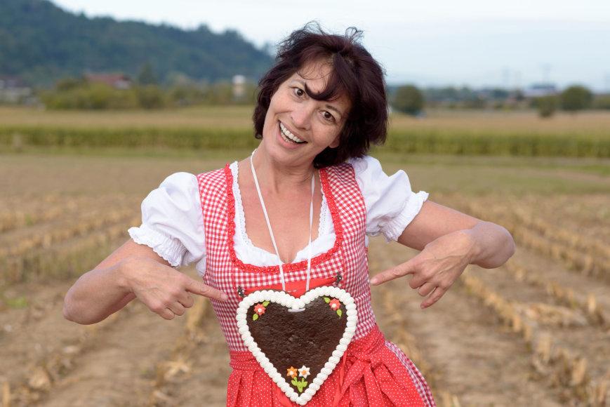 123rf.com nuotr./Vokietijoje širdies formos saldumynas – dažniausiai Valentino dienos dovana