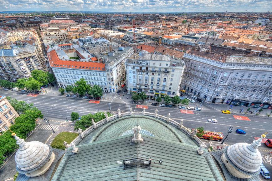 123rf.com nuotr./Vaizdas iš Šv. Stepono bazilikos Budapešte