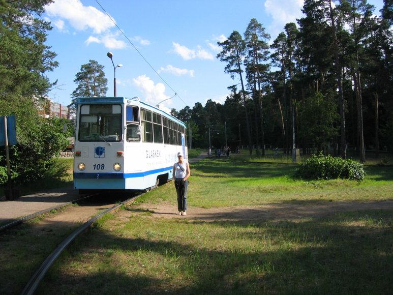 Asmeninė nuotr./Paskutinė tramvajaus stotelė