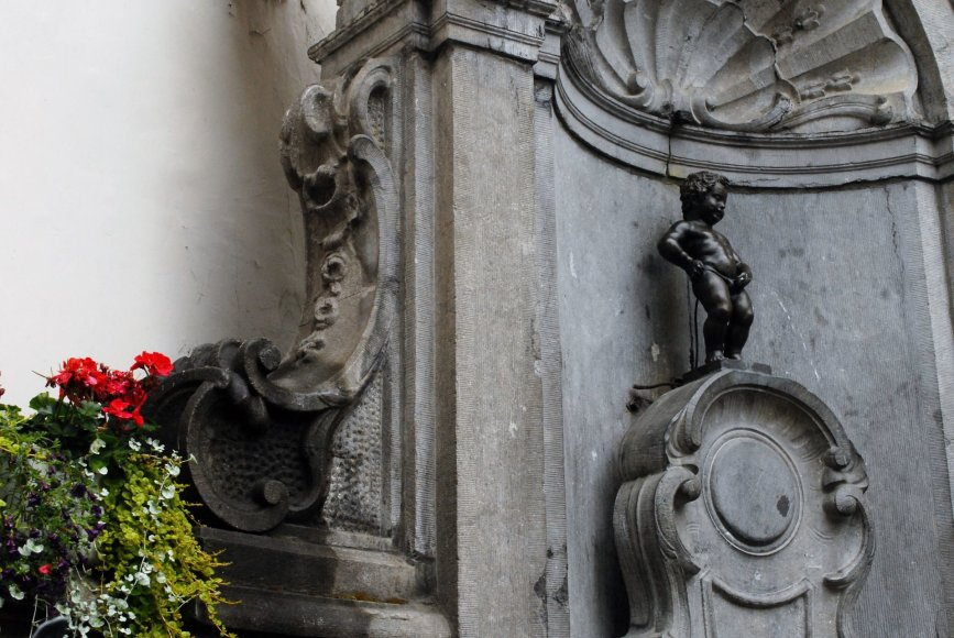 Saulės Paltanavičiūtės nuotr./Besišlapinantis berniukas – Briuselio simbolis