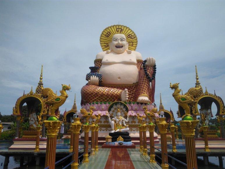Asmeninė nuotr./Didysis Buda Koh Samui saloje