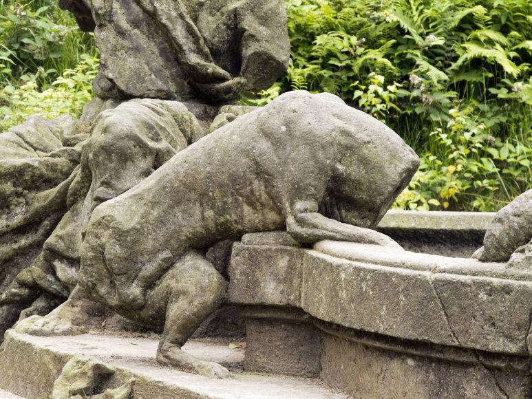 123rf.com/Šv. Jokūbo fontanas Kukso pilies