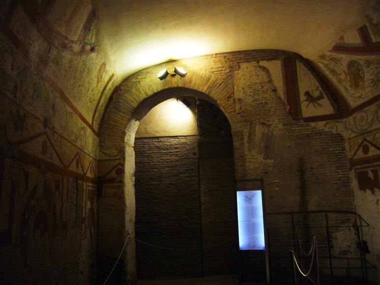 Wikipedia.com nuotr./Casa romana al Celio